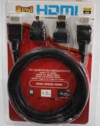 kabel hdmi 3 in 1