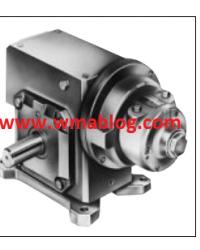 Gast  4AM-70C-CB40 Geared Air Motor
