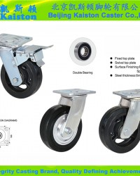 Heavy duty Rubber Castors