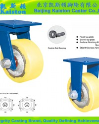 Industrial castor wheels
