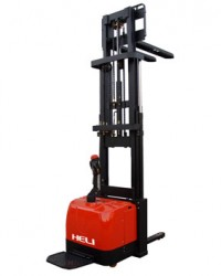 Harga Electric stacker | Pusat electric stacker | Electric stacker Heli | electric pallet stacker