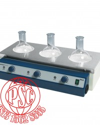 Analog Aluminum-Case Multi Heating Mantles WHM with 3 & 6 Places Daihan Scientific