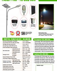 Lampu PJU Multi LED 60 Watt