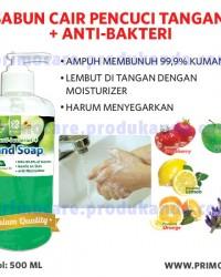 Sabun Pencuci Tangan Anti Kuman PRIMO HAND SOAP 500ml