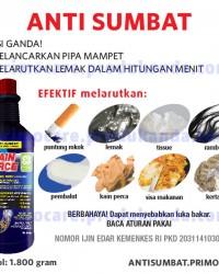 Anti Sumbat Pipa Mampet PRIMO DRAIN FORCE 1800 gram