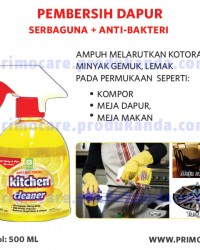 Pembersih Dapur Anti Kuman PRIMO KITCHEN CLEANER 500 mL