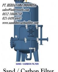 Jual Sand Filter  sandfiltercarbonfilter.com CALL. 0812 1060 8750 sales@indovessels.com | sand-filte