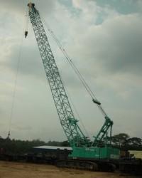 Jasa Crawler Crane Kapasitas 30 ton s/d 250 ton Surabaya