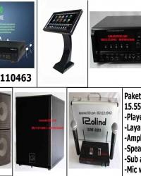 paket karaoke 15550