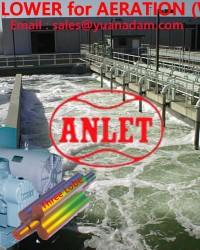 Root Blower untuk Tangki Airasi pada WWTP ( Waste Water Treatment Plant ) Instalasi Pengolahan Air l