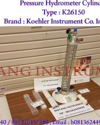 Pressure Hydrometer Cylinder Type : K26150 Brand : Koehler Instrument Co. Inc., USA