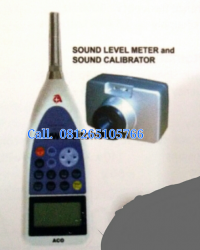 PORTABLE SOUND LEVEL METER TYPE 1 AND CALIBRATOR - 6238