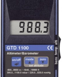 PORTABLE BAROMETER | ALTIMETER | THERMOMETER GTD-1100
