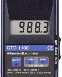 PORTABLE BAROMETER | ALTIMETER | THERMOMETER GTD-1100