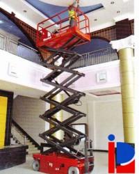 Jasa Sewa Scissor 12 Meter | 12 Meter Scissor Lift Murah Meriah