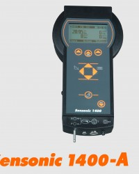 SENSONIC 1400 || HAND-HELD COMBUSTION GAS ANALYSER SENSONIC 1400-A || FLUE GAS ANALYZER S-1400