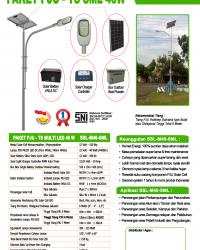 Paket PJU-TS 40 Watt