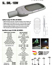 Lampu Jalan LED 100 Watt Multi SML