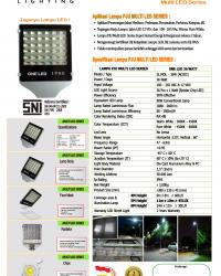 Lampu PJU Multi LED 36Watt