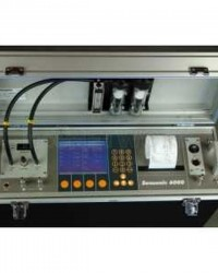 PORTABLE FLUE GAS ANALYZER S-6000 SENSONIC, ALAT UKUR KADAR GAS YANG KELUAR DRI CEROBONG ASAP INDUST