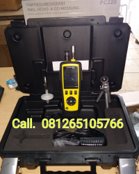 TROTEC || PARTICLE COUNTER || INCL, HCHO AND CO-MEASUREMENT (TYPE PC-220)
