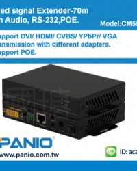 CM5500 HD beset Extender with Audi RS232 and POE