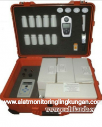 SIMPLE WATER TEST KIT - ALAT ANALISA AIR - SAFE -10 CHECK