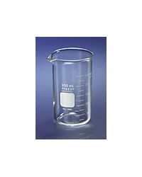 Beaker PYREX® 100mL Tall Form Berzelius Beakers, with Spout, Graduated (Product #1060-100)