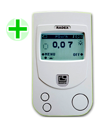 PORTABLE RADIATION DETECTOR TYPE RD-1503, ALAT UKUR RADIASI X-RAY, BETA DAN GAMMA