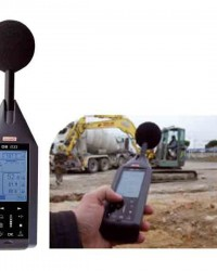PORTABLE SOUND LEVEL METER + AUTOMATIC CHECK TYPE DB-200