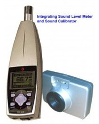 INTEGRATING SOUND LEVEL METER + SOUND CALIBRATOR TYPE 6230 ACO-JAPAN