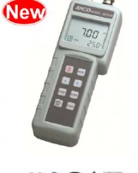 Portable pH/mV/temperature meter