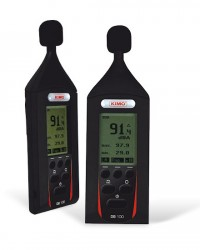 PORTABLE SOUND LEVEL METER + AUTOMATIC CHECK TYPE DB-100 KIMO, JUAL ALAT UKUR KEBISINGAN SUARA