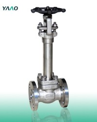 Flanged A352 F321H Forged Gate Valves