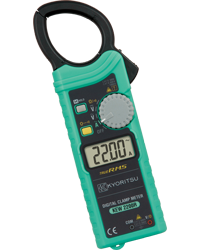 KYORITSU KEW 2200R NEW AC DIGITAL CLAMP METERS