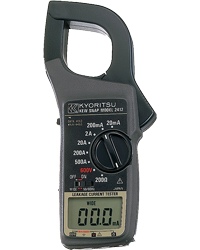 KYORITSU MODEL 2412 Leakage Clamp Meters
