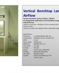 Vertical  Benchtop  Laminar AirFlow  (