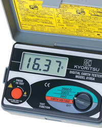 KYORITSU Earth Testers MODEL 4105A