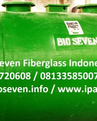 Bio STP Fiber Mutu Tinggi - IPAL Puskesmas, IPAL RS, IPAL Klinik Praktis & Ekonomis