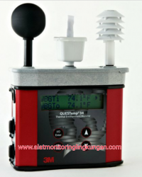 DATALOGGING AREA HEAT STRESS MONITOR  QT- 34 - WBGT METER - ISSB METER