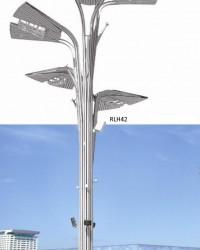 Tiang Lampu Taman Tipe RLH 42