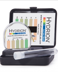 Hydrion Lo Ion Quat Test Kit