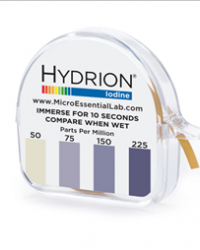Hydrion Iodine Dispenser 50-225