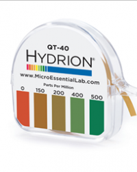 Hydrion (QT-40) Quat 146 Test Kit 0-500ppm