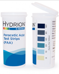 Peracetic Acid (PAA) test paper 0-160 PPM