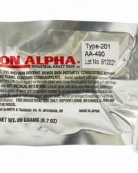 Aron alpha 201 cyanoacrylate instant adhesive,20 gr bottle