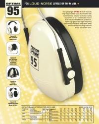 peltor optime 95,earmuff H6a/V,Pelindung penutup telinga 3M