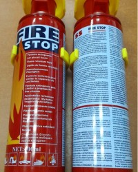 Firestop spray mini portable fire extinguishers,fire stop apar