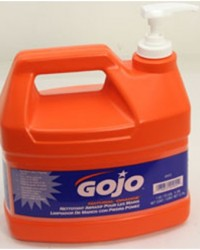 Gojo hand cleaner natural orange pumice,gojo 0955,