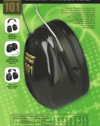earmuff peltor optime attachable h7p3e ,pelindung telinga model jepit helm,